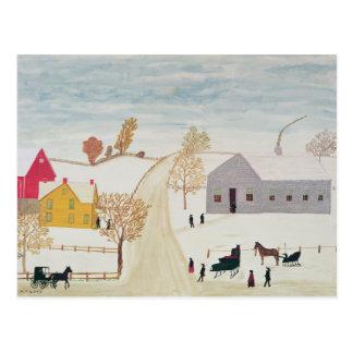 Carte Postale Village amish