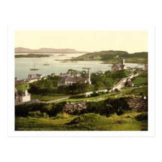 Carte Postale Village de Killybegs, le Donegal, Irlande, 19ème