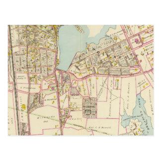 Carte Postale Village de Mamaroneck, New York