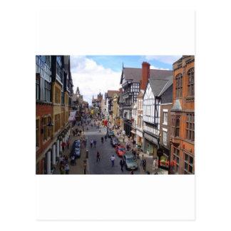 Carte Postale Ville anglaise de Chester