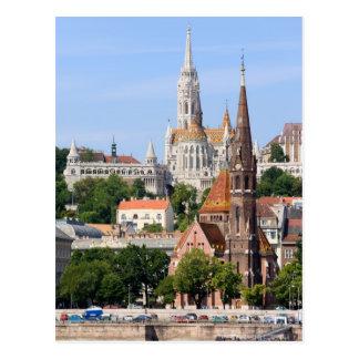 Carte Postale Ville de Budapest en Hongrie