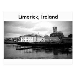 Carte Postale Ville de Limerick, Irlande