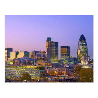 Carte Postale Ville de Londres