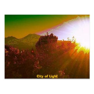 Carte Postale Ville de lumière