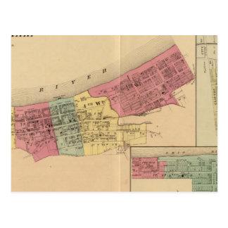 Carte Postale Ville de Maysville avec Chester et Woodville