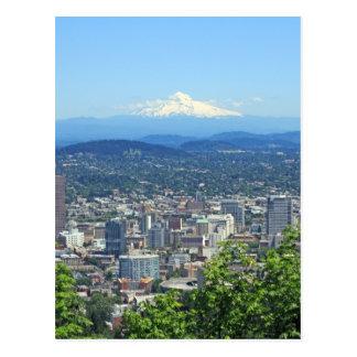Carte Postale Ville de Portland, Orégon et Mountain View
