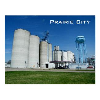 Carte Postale Ville de prairie