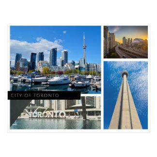 Carte Postale Ville de Toronto