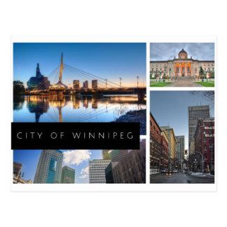 Carte Postale Ville de Winnipeg