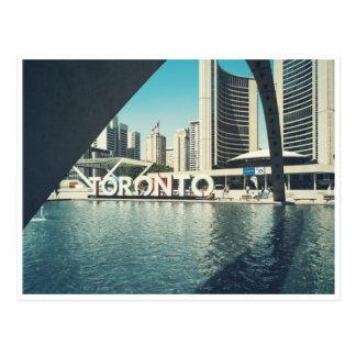 Carte Postale Ville hôtel de Toronto
