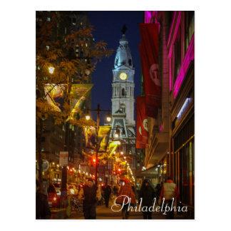 Carte Postale Ville hôtel, Philadelphie