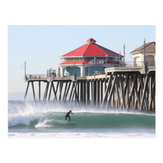 Carte Postale Ville Huntington Beach Ca de surf