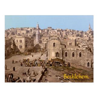 Carte Postale Ville Sainte de Bethlehem