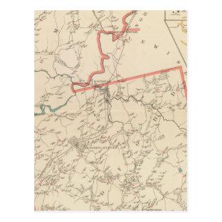 Carte Postale Villes de Bedford, Somers