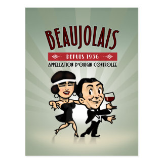 Carte Postale Vin Beaujolais