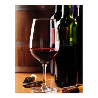 Carte Postale Vin rouge