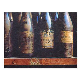 Carte Postale Vin vintage