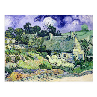 Carte Postale Vincent van Gogh | a couvert des cottages de