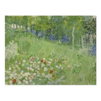Carte Postale Vincent van Gogh - le jardin de Daubigny