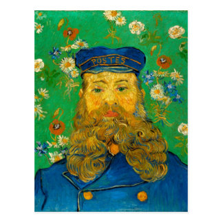 Carte Postale Vincent van Gogh - portrait de Joseph Roulin