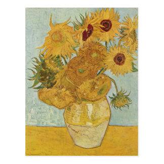 Carte Postale Vincent van Gogh - tournesols