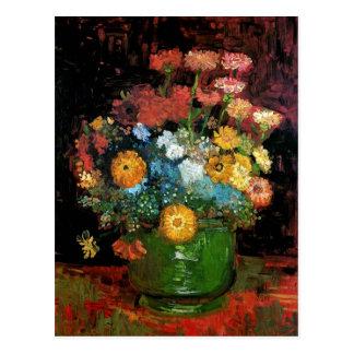 Carte Postale Vincent van Gogh - vase avec des beaux-arts de