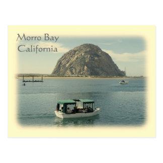 Carte postale vintage de baie de Morro de style !