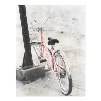 Carte postale vintage de bicyclette