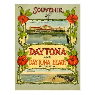 Carte postale vintage de Daytona Beach