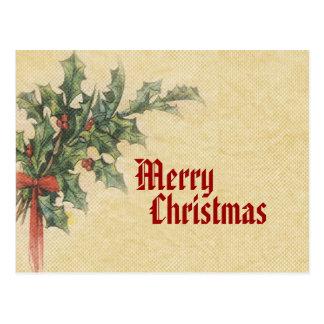 Carte postale vintage de Joyeux Noël