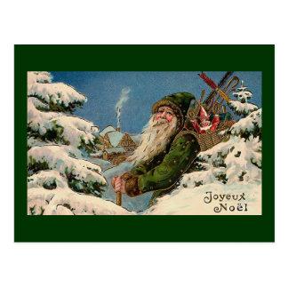 "Carte postale vintage de ""Joyeux Noel"""