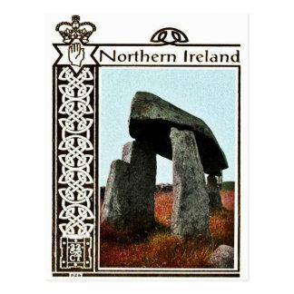 Carte postale vintage de l'Irlande du Nord