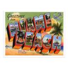 Carte postale vintage de Miami Beach
