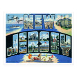 Carte postale vintage de New Jersey