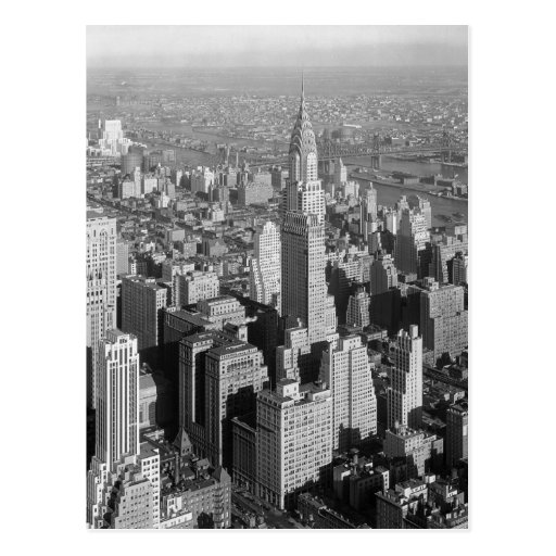 Carte postale vintage de New York City