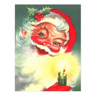 Carte postale vintage de Noël de père