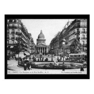 Carte postale vintage de Panthéon de Paris