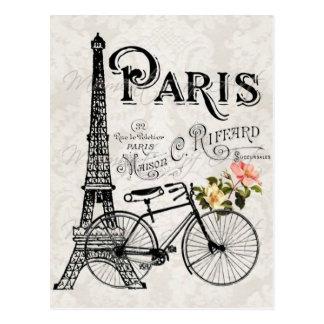 Carte postale vintage de Paris