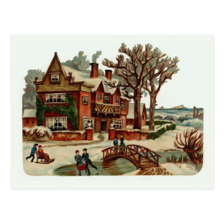 Scènes de Noël vintage