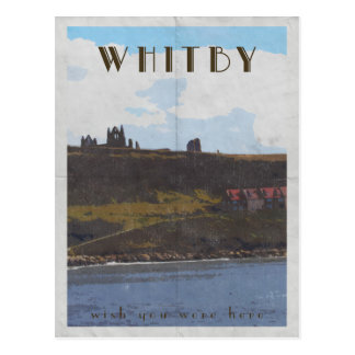 carte postale vintage de style d'affiche de voyage