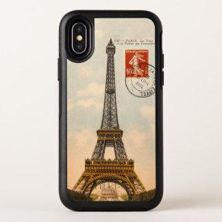 Carte postale vintage de Tour Eiffel