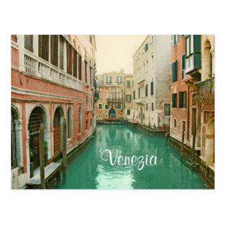 Carte postale vintage de Venise