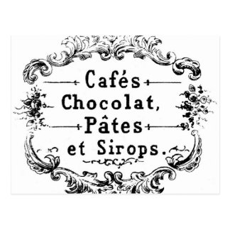 Carte postale vintage française