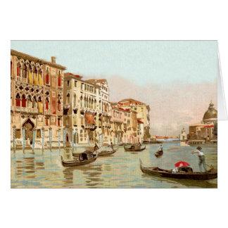 Carte postale vintage Palazzo Franchetti Venezia