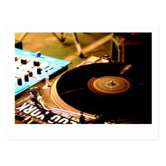 Carte Postale Vinyle 1 du DJ