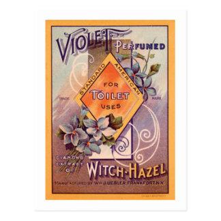 Carte Postale Violette parfumée - 1903