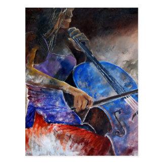 Carte Postale violoncelle 560308