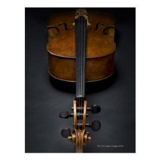 Carte Postale Violoncelle antique