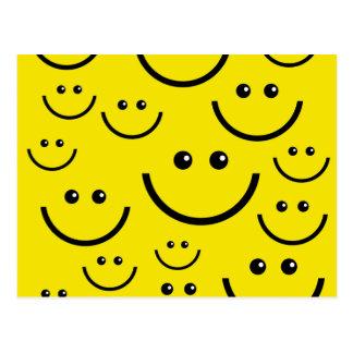 Carte Postale Visage souriant souriant !