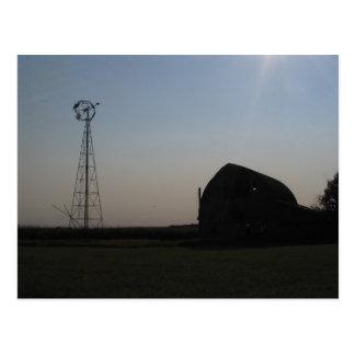 Carte Postale Visions de la prairie du Dakota du Sud
